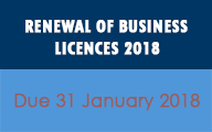 Business Licences 2018